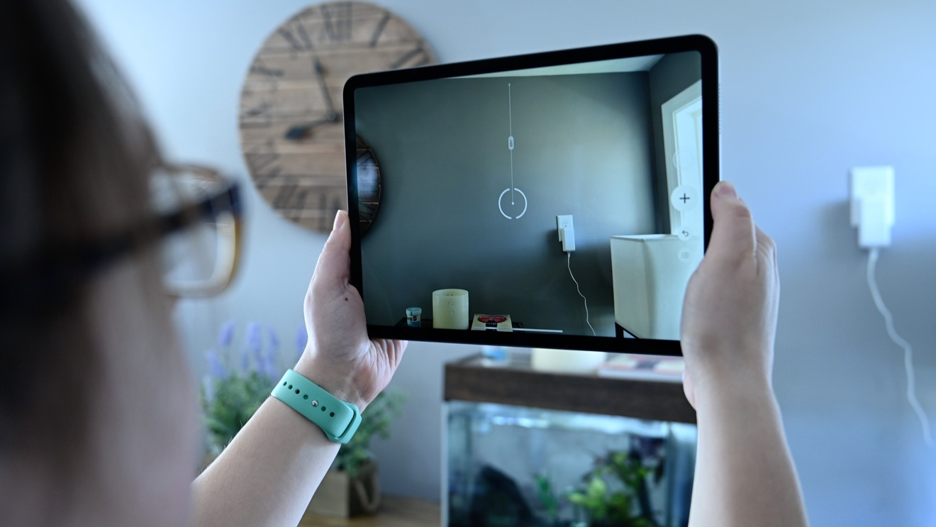 Использование iPad Pro в качестве видоискателя