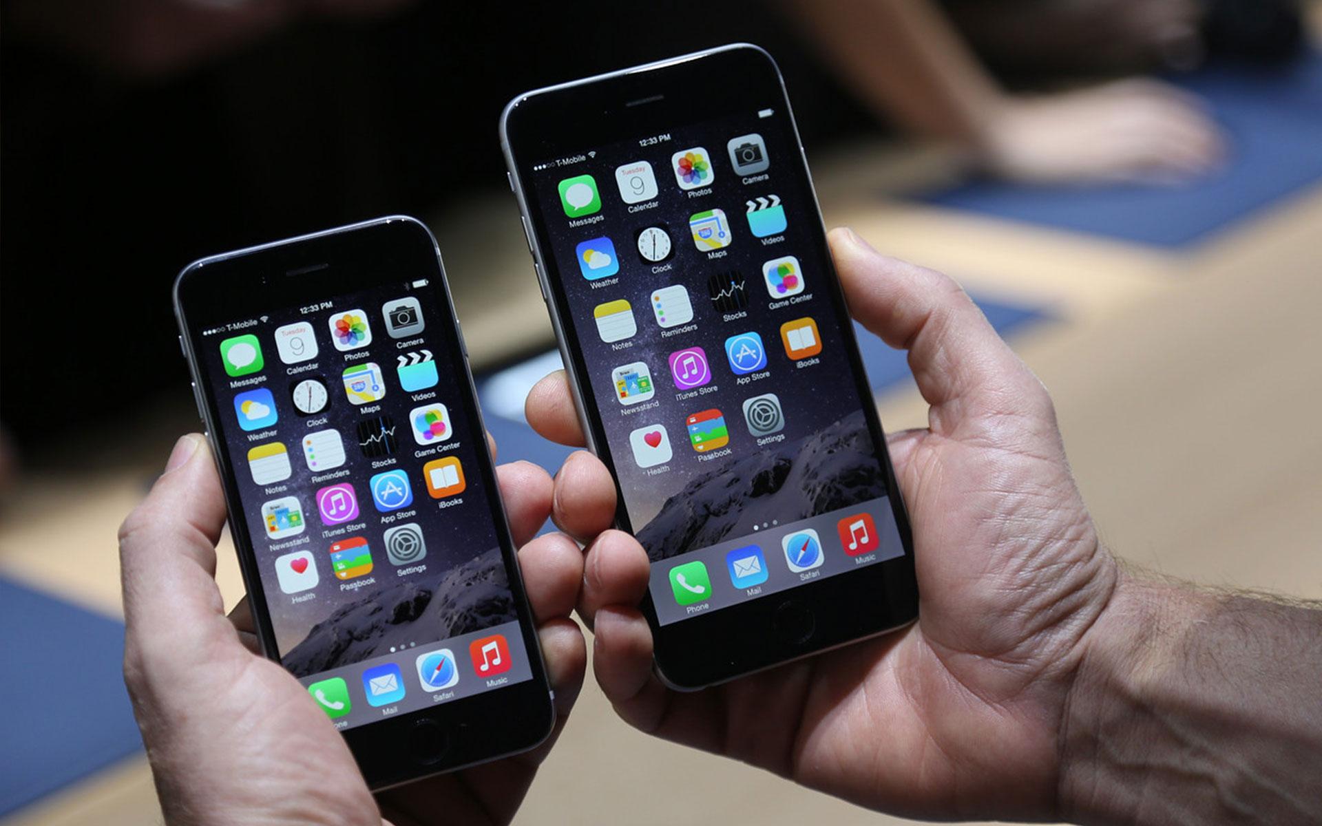 5.5 дюймовый дисплей iPhone 6, материнская плата и батарея в 2.915 мАч