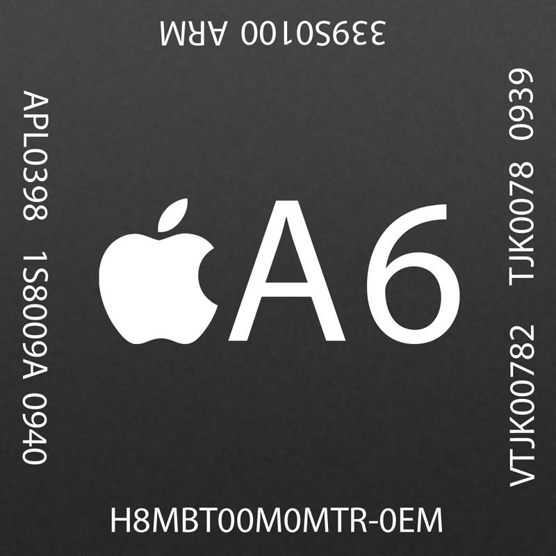 Новый процессор A6 в iPhone 5