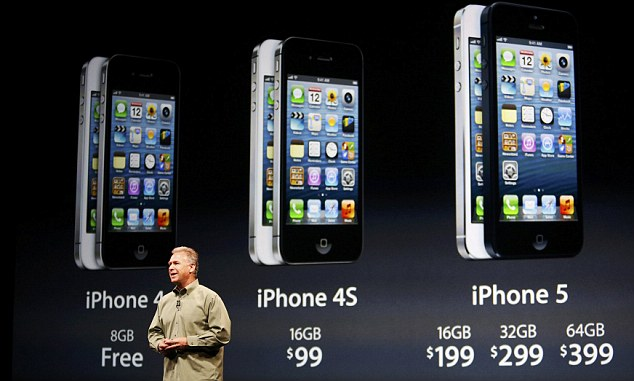 Айфон - лидер на рынке смартфонов