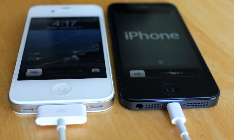 Обзор дизайна iPhone 5